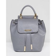 Carvela Darla Backpack (90 CAD) ❤ liked on Polyvore featuring bags, backpacks and grey