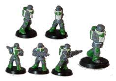 Carapace, Imperial Guard, Naval Infantry, Sculpting - Malfian Veteran Armour - Gallery - DakkaDakka | Just a few skulls short of a throne.