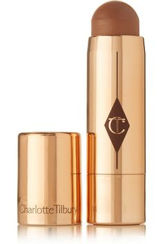 "Kate Moss: ""I use this on my face instead of bronzer to highlight and give my skin an added glow."""