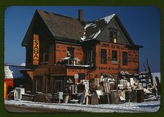 Brockton, Mass., Dec. 1940, second-hand plumbing store (LOC) | Flickr - Photo Sharing!