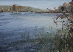 Canandaigua Lake Painting Finger Lakes Area by Paintpotsplus, $25.00
