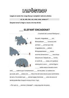 257572457 Completar El Conte L Elefant Encadenat