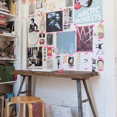 Mood board without the board.  #interiordesign #inspiration #interiorstyling #interiors #decor #deskspace #desk #working #workspace #boho #bohemian #visionboard #moodboard