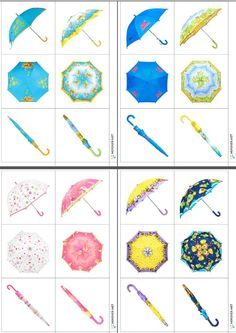 Empareja paraguas desde distintas perspectivas