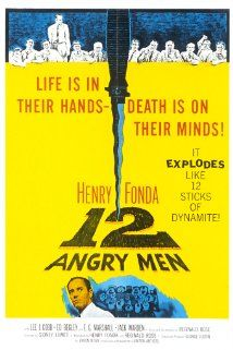 "February 5 -- 12 Angry Men (1957) ""A dissenting juror in a murder trial slowly manages to convince the others that the case is not as obviously clear as it seemed in court."" (IMDB)"