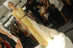 Vionnet - gold starry gown.