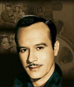 Pedro Infante (picture selected by Ikira Baru, Latin heritage singer. www.ikirabaru