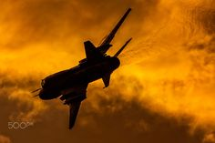 Sukhoi Su-22M4 - Poland - Air Force - Sukhoi Su-22M4 at a sunset airshow, Radom 2015 More images at www.e-pic.se