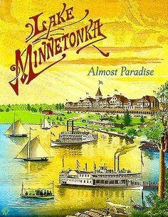 Lake Minnetonka Print (Bay Tree in Excelsior)