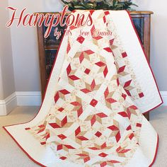 Fat Quarter Shop's Jolly Jabber made from Minick and Simpson's Midwinter Reds.