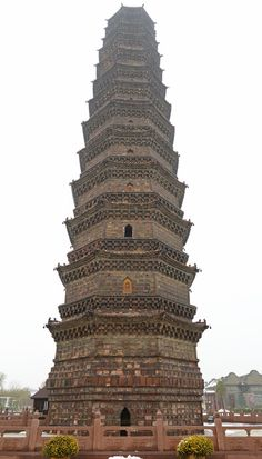 Iron Pagoda - Kaifeng Photo by: Charles Lin #kaifeng #ironpagoda #wherechinabegan #amazinghenan #beautifulchina #henan #china www.visithenan.org