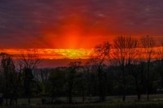 Sunrise in the country by Joe Matzerath on 500px