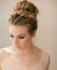 40 Besten Hochzeit Bilder Auf Pinterest Easy Hairstyles Hair Buns