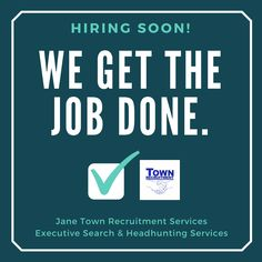 Looking for:  1. Businesses in need of hiring services 2. Headhunters already employed but still want to earn extra income 3. People looking for jobs 4. People looking for opportunity to change careers  Jane Town Recruitment Services - a Filipino-British recruitment firm located in Laguna which offers following services:  1. Headhunting 2. Executive search 3. Personality Development Coaching for Job Applicants (still in progress)