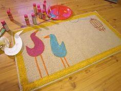 DIY doormat by Ninnibun