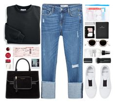 """""""#883 Soline"""" by blueberrylexie ❤ liked on Polyvore featuring Zara, Blair, Flight 001, Pierre Hardy, FOSSIL, Marc Jacobs, Plane, Acne Studios, Korres and Fig+Yarrow"""