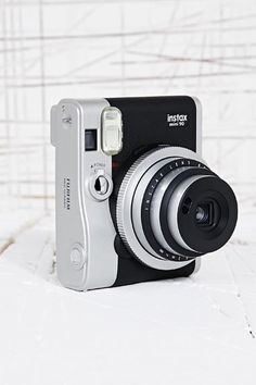 Fujifilm Instax Mini 90 Camera Set in Black at Urban Outfitters