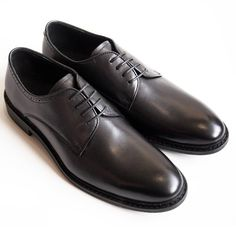 Dark Brown Leather, Calf Leather, Leather Shoes, Derby Shoes, European Fashion, Men's Shoes, Oxford Shoes, Lace Up, Sandals