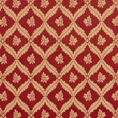 The KC467 upholstery fabric by KOVI Fabrics features Floral, Small Scale pattern and Burgundy or Red or Rust, Gold or Yellow as its colors. It is a Damask or Jacquard type of upholstery fabric and it is made of 60% Rayon, 40% Polyester material. It is rated Exceeds 35,000 double rubs (heavy duty) which makes this upholstery fabric ideal for residential, commercial and hospitality upholstery projects. This upholstery fabric is 54 inches wide and is sold by the yard in 0.25 yard increments or…