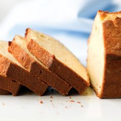 How sweet it is -- pound cake from scratch in three simple steps! We've added vanilla to our recipe for an extra hint of flavor!