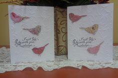 Scripture card with birds and swirls by LuvinItCREATIONS on Etsy