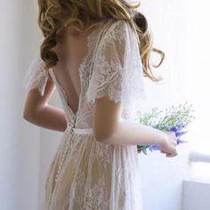Romantic Wedding Dresses,A-line Wed..