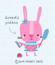 domestic goddess; by pop-i-cok