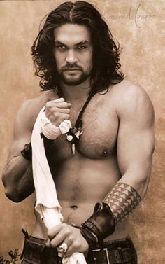 Jason Momoa ¸.•`♥¸.•`♥ Sexy and Shirtless