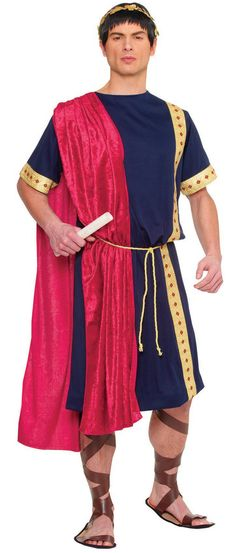 Mens Roman Senator Costume More