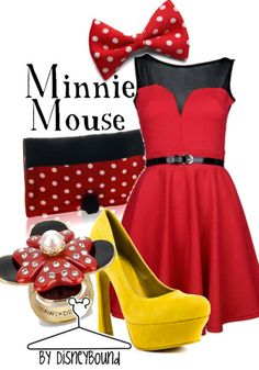dress like your favorite disney character: Minnie Mouse