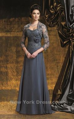 1 of 2 Mother of the Bride gowns I'd love... gotta get the bride and the figure though!
