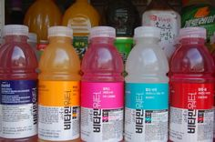 Korea vitamin water