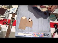 Scrapbook para principiantes 4: Parte I, tutorial tipos de etiquetas y tags. Scrapbooking ideas - YouTube