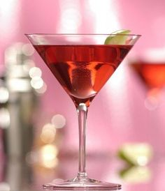 Virgin Cosmo  Ingredients  2 ounces cranberry juice  Splash Rose's sweetened lime juice  Club soda to taste  Lime wedge or twist to garnish    Directions  Fill highball glass with ice. Pour in juices and top with club soda. Alternately, fill cocktail shaker with ice and shake juices until chilled, then pour into martini glass and top with club soda.Add lime garnish.