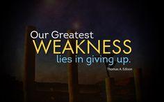 Thomas Edison Quotes #Addiction #Recovery #Motivational #Sobriety #Inspiration