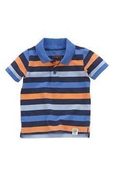 Super seje Name it T-shirt Edolf mini Blå Stribet Name it T-shirt til Børn & teenager i dejlige materialer