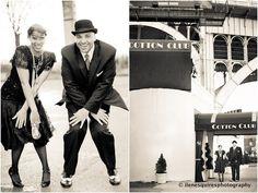 Ilene Squires Photography: Vintage Harlem Engagement Shoot: Erika and Donald