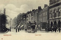 London, Highbury, Upper Street, is it the 'Old Cock Tavern' on the right.jpg (1280×839)
