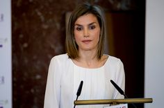 Queen Letizia of Spain attends the Rare Diseases World Day Event at Consejo Superior de Investigaciones Cientificas on March 3 2016 in Madrid Spain