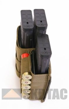 Esstac KYWI Triple M4/Pistol Mag Pouch is available at $85.80 USD