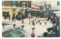 Tucks Merry Christmas Santa Scene Snow Winter Festive Antique Postcard K17567