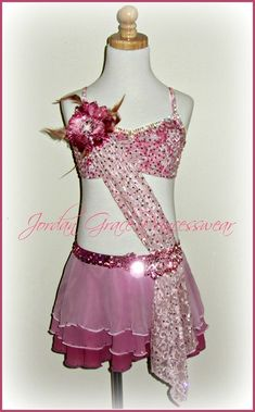 Jordan Grace Princesswear Custom Unique Dance Costumes design consultation choreography dance style