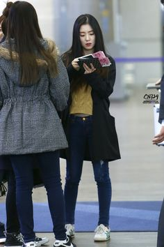 Red Velvet Irene Airport Fashion 141116 2014 Kpop