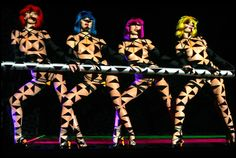 The performances of the Crazy Horse cabaret Paris for a new show, an artistic, modern, colorful spectacle that is the pinnacle of nude chic.
