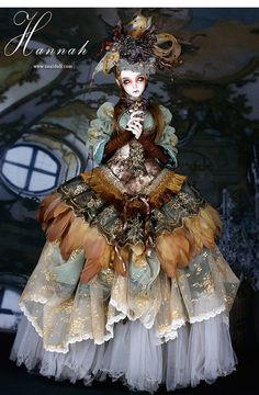 Steampunk Style ball jointed doll - Limited fullset-Hannah by SOULDOLL. $1,130.00 USD