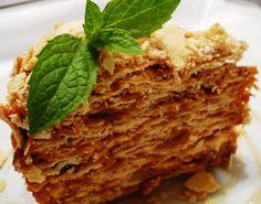 Receta Torta Mil Hojas, también conocida como Torta Babilonia. | Espacio Culinario www.espacioculinario.cl