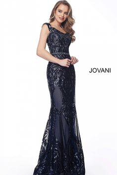 3ace32778d31 Mauve embellished bodycon evening dress  Jovani  formalgown