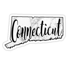 """""""Connecticut"""" Stickers by sophh-sophh   Redbubble"""