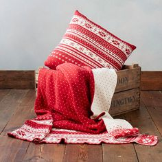 Duvet and Pillow Warehouse | Nordic knit | The Relaxed Home