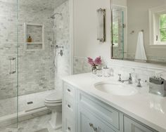 beautiful bathroom by Martha Dayton Design